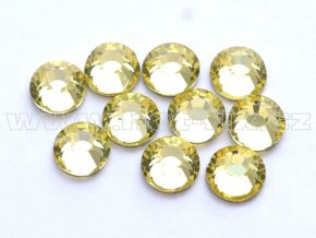 celobroušené hot-fix kameny Premium barva 111 Jonquil, velikost SS20, balení 144ks, 720ks nebo 1440ks