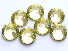 celobroušené hot-fix kameny Premium barva 111 Jonquil, velikost SS30, balení 144ks, 720ks nebo 1440ks