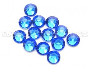 celobroušené hot-fix kameny Premium barva 117 Sapphire, velikost SS16, balení 144ks, 720ks nebo 1440ks