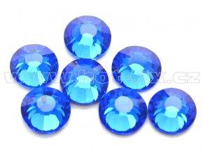 celobroušené hot-fix kameny Premium barva 117 Sapphire, velikost SS30, balení 144ks, 720ks nebo 1440ks