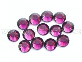 celobroušené hot-fix kameny Premium barva 122 Amethyst, velikost SS16, balení 144ks, 720ks nebo 1440ks