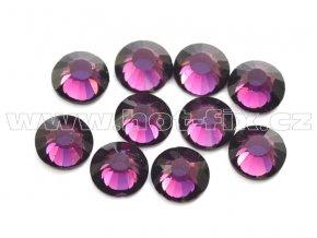 celobroušené hot-fix kameny Premium barva 122 Amethyst, velikost SS20, balení 144ks, 720ks nebo 1440ks