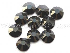 celobroušené hot-fix kameny Premium barva 125 Jet hematite, velikost SS20, balení 144ks, 720ks nebo 1440ks
