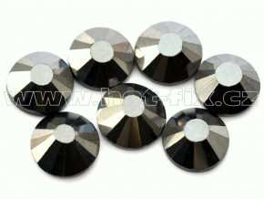 celobroušené hot-fix kameny Premium barva 125 Jet hematite, velikost SS30, balení 144ks, 720ks nebo 1440ks