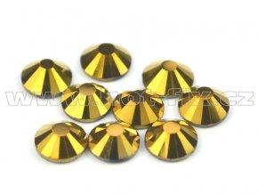 CBP 305 Gold Hematite velikost SS20 hot fix kameny na textil celobroušené Premium