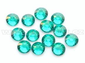 celobroušené hot-fix kameny Premium barva 140 Blue zircone, velikost SS16, balení 144ks, 720ks nebo 1440ks