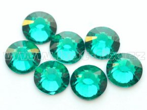 celobroušené hot-fix kameny Premium barva 140 Blue zircone, velikost SS30, balení 144ks, 720ks nebo 1440ks