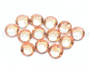 celobroušené hot-fix kameny Premium barva 190 Lt. Peach, velikost SS16, balení 144ks, 720ks nebo 1440ks