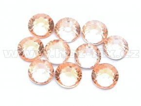 celobroušené hot-fix kameny Premium barva 190 Lt. Peach, velikost SS20, balení 144ks, 720ks nebo 1440ks