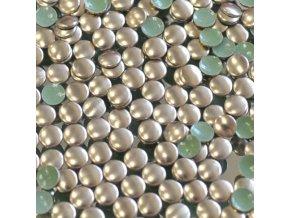 kovové hot-fix kameny barva 07 bronz velikost 5mm, balení 100 nebo 500ks