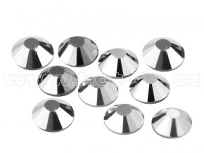 CBP 310 Silver Hematite velikost SS20 hot fix kameny na textil celobroušené Premium