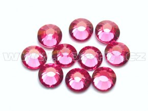 hot-fix celobroušené kameny Premium barva CBP/106 Rose, sada 4x144ks