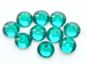 hot-fix celobroušené kameny Premium barva CBP/140 Blue zircon, sada 4x144ks