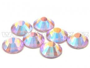 CBP 506 AB rose světlý velikost SS30 hot fix kameny na textil celobroušené Premium2