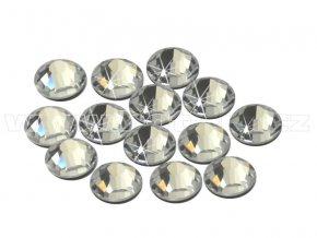 CBEP 1101 Crystal velikost SS16 hot fix kameny na textil celobroušené Extra Premium