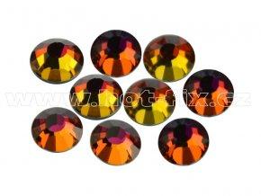 CBPEP 1315 Volcano crystal velikost SS20 hot fix kameny na textil celobroušené Premium Extra