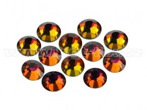 CBPEP 1315 Volcano crystal velikost SS16 hot fix kameny na textil celobroušené Premium Extra
