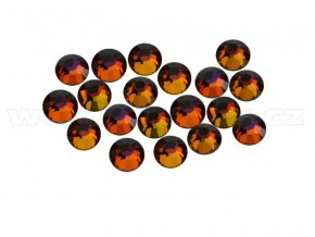 CBPEP 1315 Volcano crystal velikost SS10 hot fix kameny na textil celobroušené Premium Extra