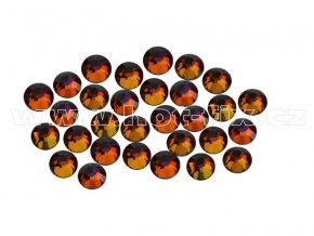 CBPEP 1315 Volcano crystal velikost SS6 hot fix kameny na textil celobroušené Premium Extra
