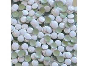 kovové hot-fix kameny barva 29 bílá velikost 5mm, balení 100 nebo 500ks