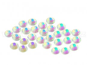 CBEP 1234 AB Nude Crystal velikost SS6 hot fix kameny na textil celobroušené Premium Extra