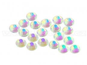 CBEP 1234 AB Nude Crystal velikost SS10 hot fix kameny na textil celobroušené Premium Extra