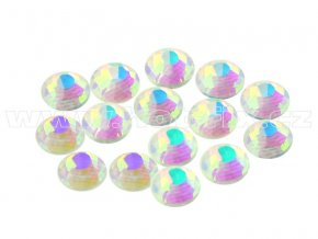 CBEP 1234 AB Nude Crystal velikost SS16 hot fix kameny na textil celobroušené Premium Extra