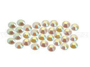 CBEP 1237 AB Pearl velikost SS6 hot fix kameny na textil celobroušené Premium Extra
