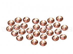 CBEP 1302 Apricot velikost SS06 hot fix kameny na textil celobroušené Premium Extra B