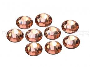 CBEP 1302 Apricot velikost SS20 hot fix kameny na textil celobroušené Premium Extra B