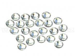 CBEP 1101 Crystal velikost SS10 hot fix kameny na textil celobroušené Extra Premium