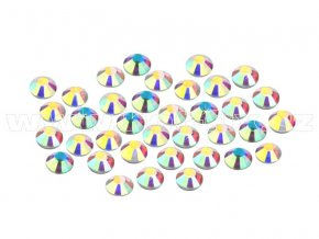 CBEP 1201 AB Crystal velikost SS6 hot fix kameny na textil celobroušené Extra Premium