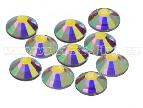 CBEP 1201 AB Crystal velikost SS20 hot fix kameny na textil celobroušené Extra Premium