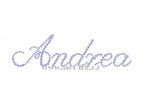 Andrea nažehlovací kamínková aplikace na textil hot fix kameny