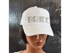 2009 A kšiltovka Bride pro nevěstu na předsvatební party hot fix kameny