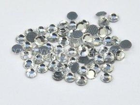 hot-fix kameny barva 101 Crystal stříbrná, velikost SS34, balení 144ks, 720ks, 1440ks