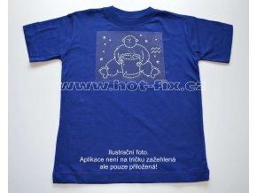 11 Vodnář dětské tričko s hot fix kamínky znamení zvěrokruhu Vodnář