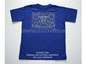 07 Váhy dětské tričko s hot fix kamínky znamení zvěrokruhu Váhy
