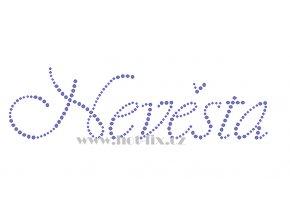 SVAT051 verze B nevěsta nažehlovací potisk na tričko, textil na párty pro nevěstu nažehlovací hot fix kamínky