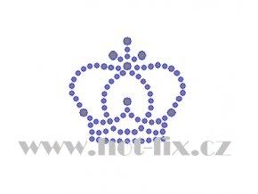 SE012 korunka hot fix nažehlovací kamínková aplikace na tričko, textil hot fix kameny