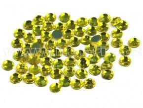 hot-fix kameny barva 112 Citrine /žlutá, velikost SS16, balení 144ks, 720ks, 1440ks
