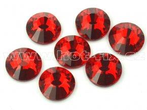 celobroušené hot-fix kameny Premium barva 103 Siam, velikost SS30, balení 144ks, 720ks nebo 1440ks