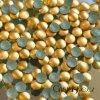 kovové hot-fix kameny barva 02 zlatá mat velikost 2mm, balení 100 nebo 500ks