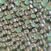 kovové hot-fix kameny barva 10 bronz mat tmavý velikost 5mm, balení 100 nebo 500ks