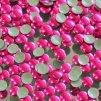 kovové hot-fix kameny barva 11 fuchsia velikost 3mm, balení 100 nebo 500ks