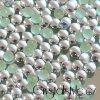 kovové hot-fix kameny barva 03 stříbrná velikost  7mm, balení 100 nebo 500ks