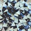 hot-fix kovový TROJÚHELNÍK barva ČERNÁ, velikost 6x6mm, balení 100 nebo 500ks
