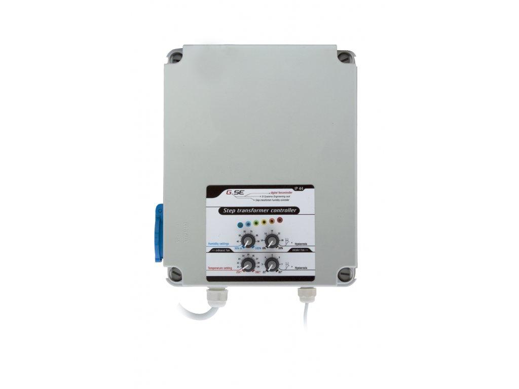 GSE Step transformer - vlhkost/teplota/hystereze pro 1 ventilátor - 2A
