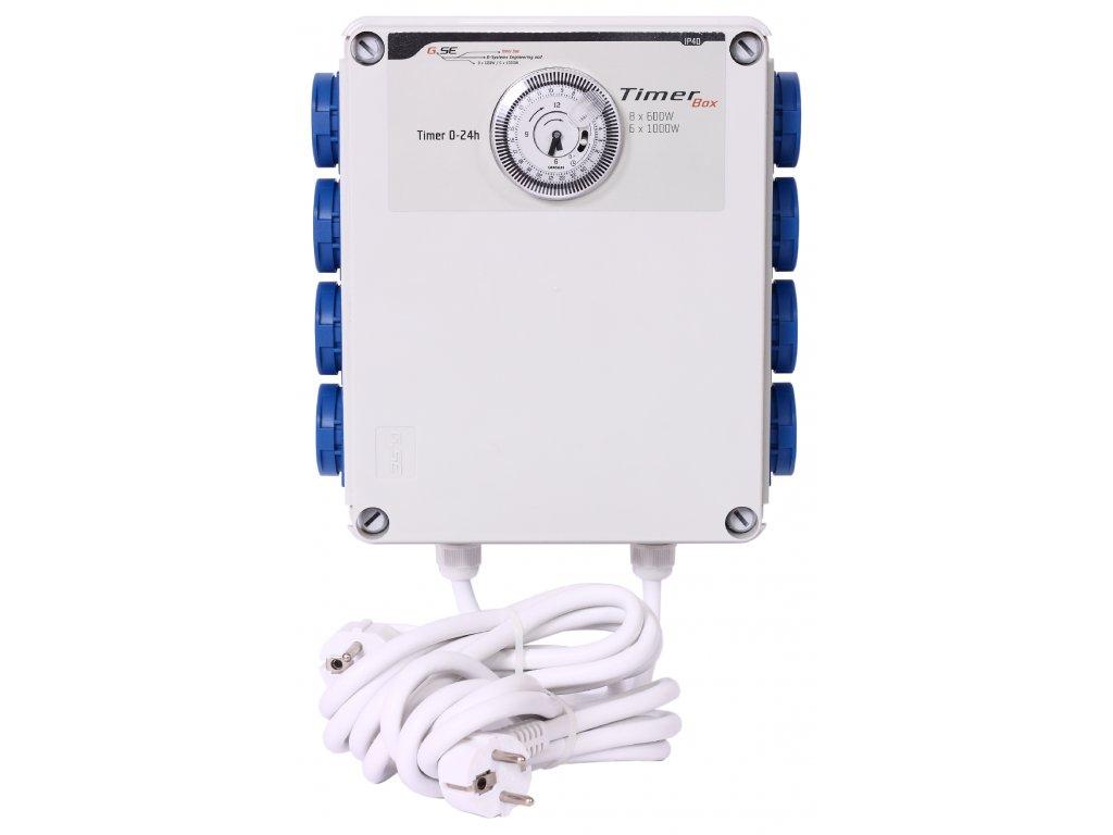 GSE Timer Box II 8x600W 230V