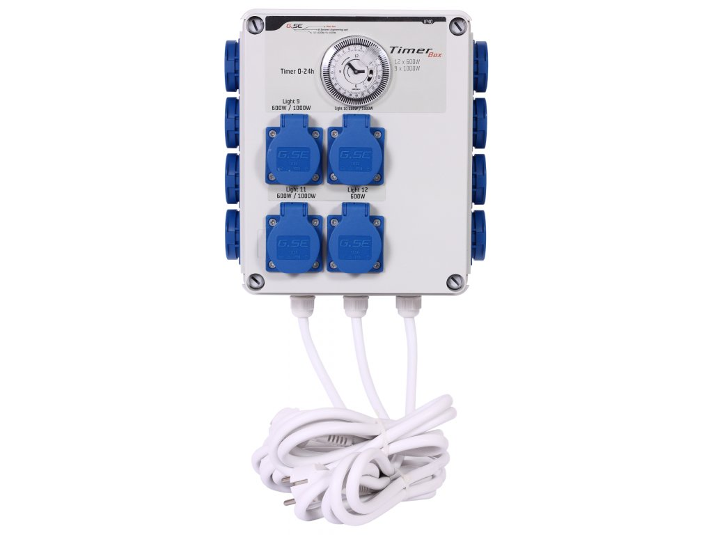 GSE Timer Box II 12x600W 220V
